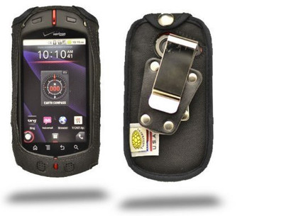 Casio GzOne Commando  Heavy Duty Case with Rotating Metal Belt Clip
