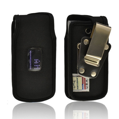 LG Exalt vn360 Heavy Duty Nylon Phone Case with Rotating Metal Belt Clip