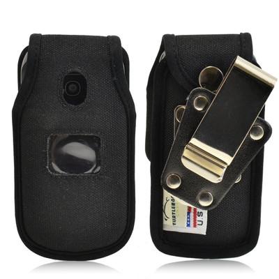 LG Envoy 2 II un160 Heavy Duty Nylon Phone Case with Rotating Metal Belt Clip