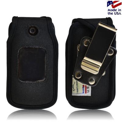 LG Wine 2 UN430 Heavy Duty Nylon Phone Case with Rotating Metal Belt Clip