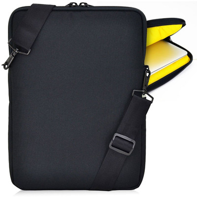 Laptop Sleeve - 14 inch | Padded, Water Resistant, Extra Pocket - Made in USA