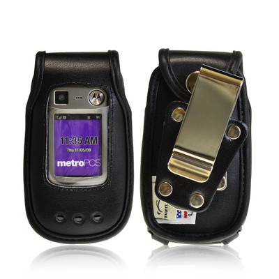 Motorola Quantico W845 V840  Heavy Duty Leather Fitted Case