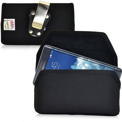Samsung Galaxy Note Edge Horizontal Nylon Holster, Metal Belt Clip