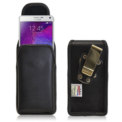Note 4 Vertical Leather Rotating Clip Holster