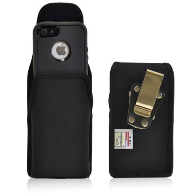 iPhone 5/5S/SE Extended Vertical Nylon Rotating Clip Holster