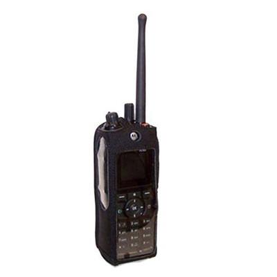 Motorola R765 2-Way Radio Heavy Duty Nylon Phone Case with Rotating Metal Clip