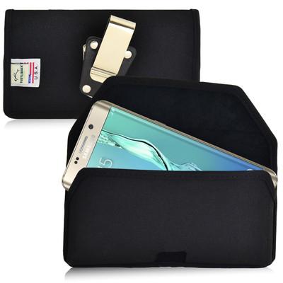 Galaxy S6 Edge Plus Nylon Holster Metal Belt Clip