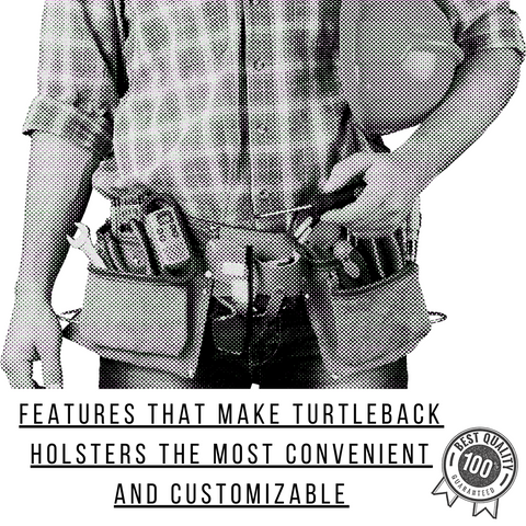 Features That Make Turtleback Holsters The Most Convenient And Customizable