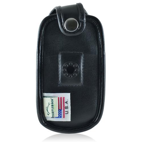 Kyocera DuraXTP Leather Fitted Case Black Belt Clip