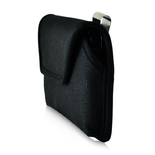 Galaxy S7 Edge Horizontal Nylon Rotating Clip Holster