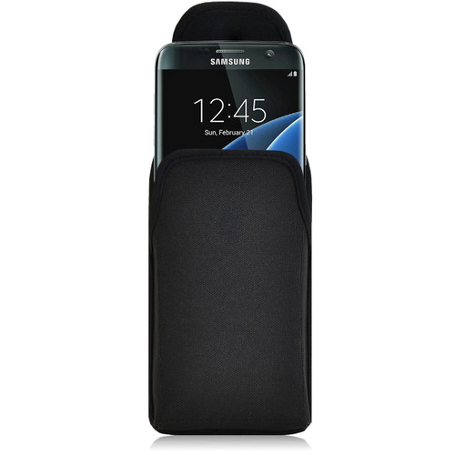 Galaxy S7 Edge Vertical Nylon Rotating Clip Holster