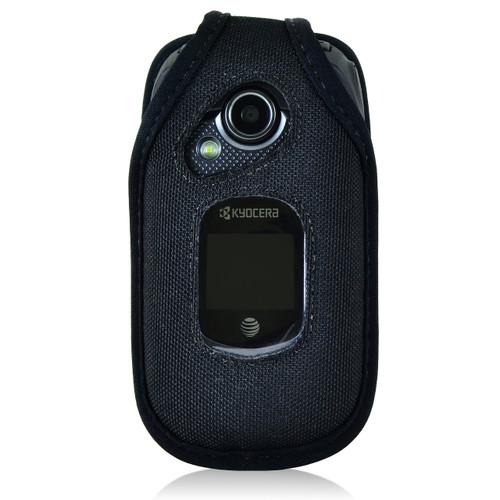Kyocera DuraXE E4710 Fitted Nylon Case, Metal Belt Clip