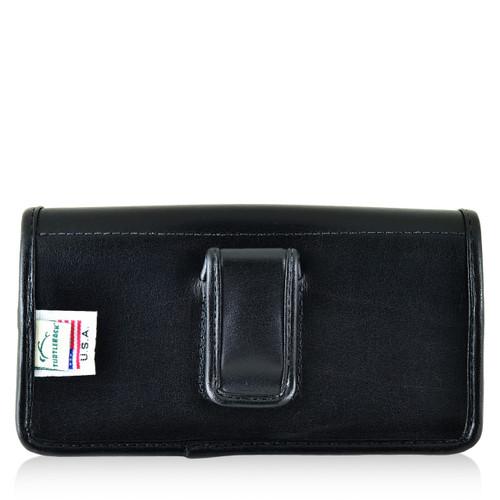 Blu Pure XL Leather Holster Case Black Belt Clip