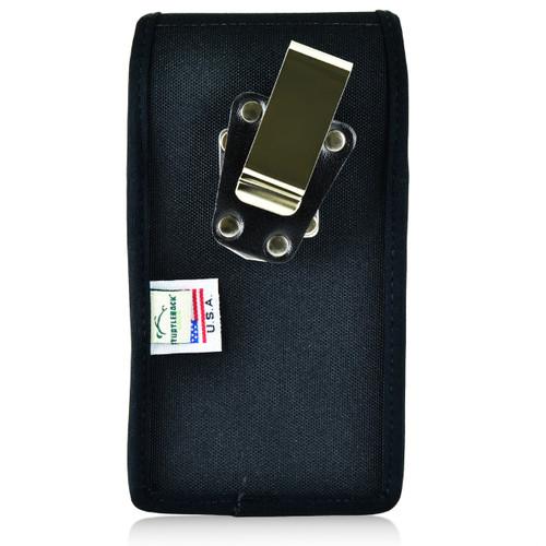 Mophie Juice Pack H2PRO iPhone 6S Belt Case H2PRO iPhone 6S Belt Clip Case with Heavy Duty Metal Rotating Belt Clip, Vertical Black Nylon Pouch - Magnetic Flap Closure