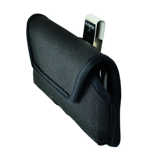 iPhone 8 and iPhone 7 Horizontal Nylon Rotating Clip Holster (Slim Case Fit)