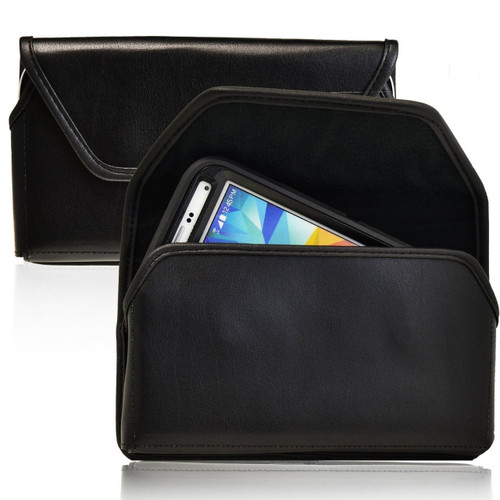Samsung Galaxy S5 V with Bulky Cases, Metal Belt Clip