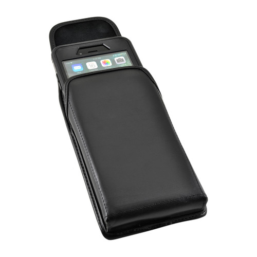 iPhone 8 Plus and iPhone 7 Plus Holster Vertical Black Belt Clip Fits Otterbox Defender