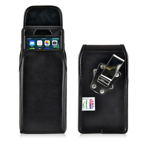 iPhone 8 Plus and iPhone 7 Plus Holster Vertical Metal Clip Fits Otterbox Defender