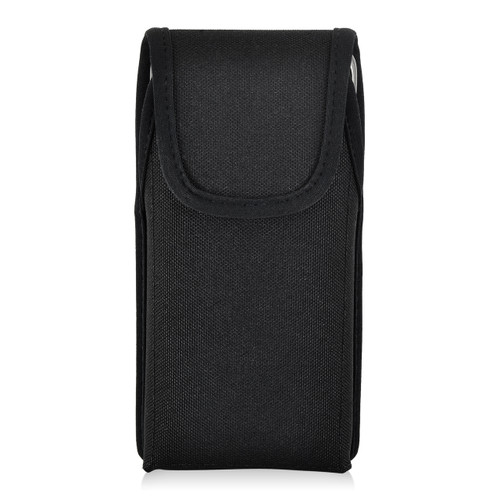 Galaxy S9 & S8 Nylon Vertical Holster Case Metal Belt Clip