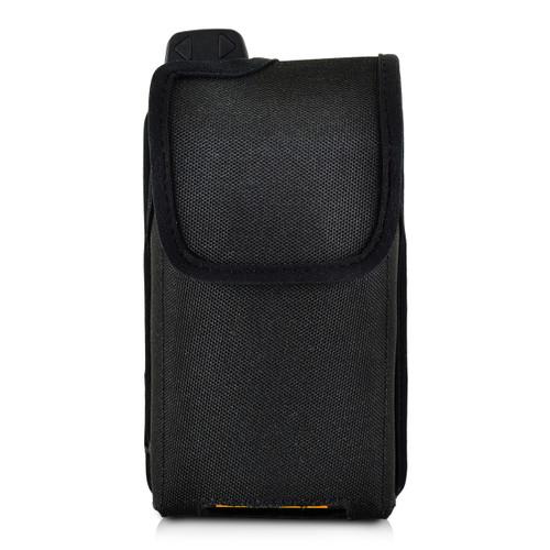Sonim XP7 Koamtac Scanner Black Nylon Holster Pouch Rotating Removable Metal Belt Clip By Turtleback