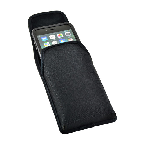 iPhone 6S Plus Nylon Vertical Holster Metal belt Clip Case Fits Otterbox Commuter