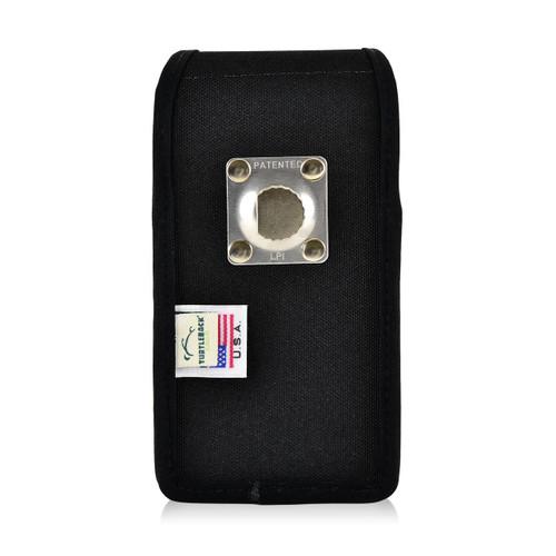 iPhone 6S Nylon VerticalHolster Metal belt Clip Case Fits Otterbox Commuter
