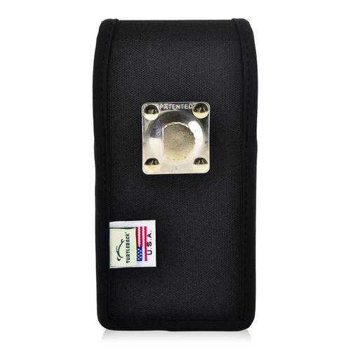 Motorola Moto Z2 Force Holster Metal Clip Case Pouch Nylon Vertical