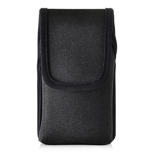 Consumer Cellular Alcatel GO FLIP, Go Flip V, ATT Flip2, T-Mobile 4044W, MYFLIP (A405DL) Black NYLON Magnet Closure Rotating Belt Clip