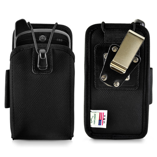 "Zebra Motorola MC55 Mobile Computer Case Holster 2 Belt Clips Metal Clip/Belt Loop Fits 6 1/4""X 3 1/8""X 1 3/8"""