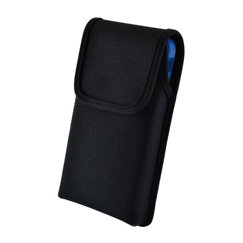 iPhone XR (2018) Fits with OTTERBOX COMMUTER Vertical Holster Black Nylon Pouch Rotating Belt Clip