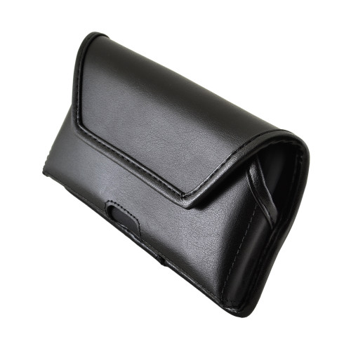 Galaxy S10e Leather Holster Case Black Belt Clip