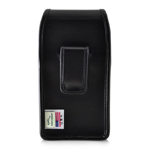 Galaxy S10 Leather Vertical Holster Case Black Belt Clip