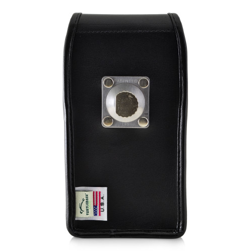 Galaxy S10 Leather Vertical Holster Case Metal Belt Clip