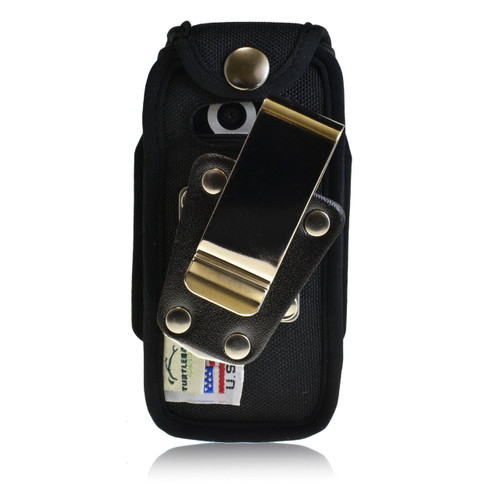 Casio GzOne Ravine 2 Heavy Duty Nylon Case with Rotating Metal Clip