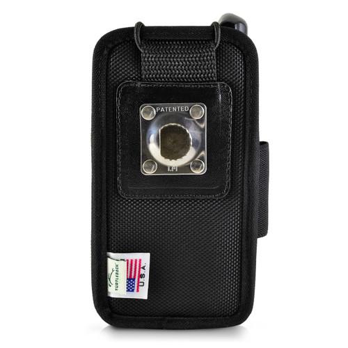 "Zebra Motorola MC65 Mobile Computer Case 2 Belt Clips, Metal Clip & Belt Loop Fits 6 1/4"" X 3 1/8"" X 1 1/2"""