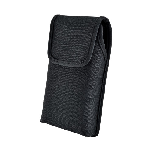 Galaxy S10+ Plus Fits with OTTERBOX DEFENDER Vertical Holster Black Nylon Pouch Rotating Belt Clip
