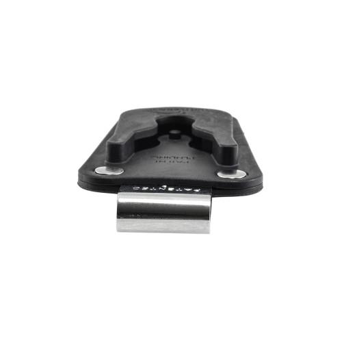 "Balastec Plastic 1.75"" J Clip Rotating Ratcheting Removable Belt Clip"
