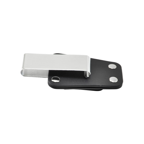 "Balastec Plastic 2.25"" J Clip Rotating Ratcheting Removable Belt Clip"
