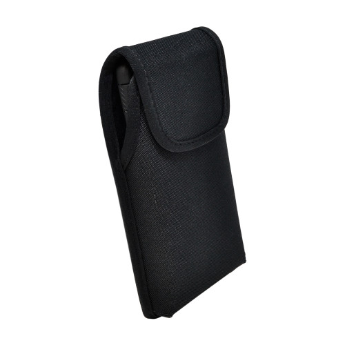 Galaxy S20 Vertical Holster Black Nylon Pouch with Rotating Belt Clip