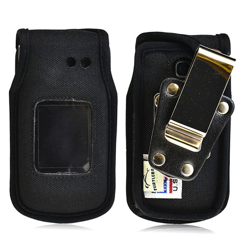 LG A340 Heavy Duty Nylon Phone Case with Rotating Metal Belt Clip