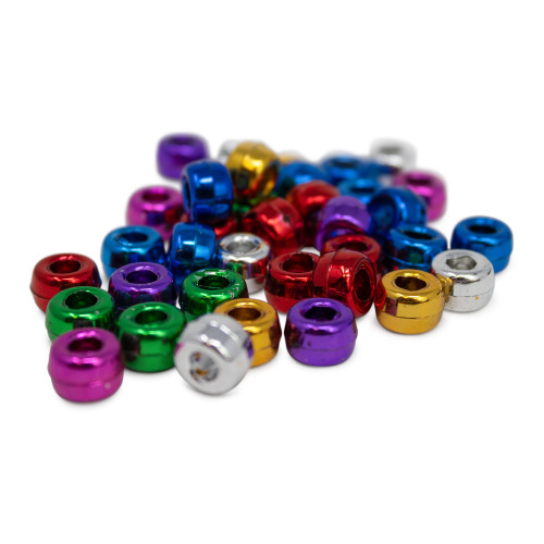 Metallic colored bead pack (Set of 10 Beads)