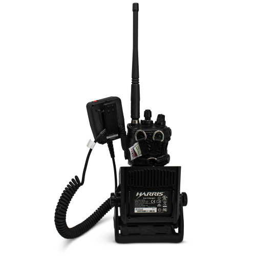 L3Harris XL-200P ATT Global LTE FirstNet Duty Belt D-RING Basket Weave Leather Fits STANDARD, EXTENDED BATTERY