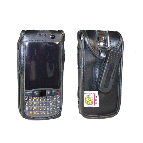 Motorola ES400 Extended Battery Leather Case with Belt Clip