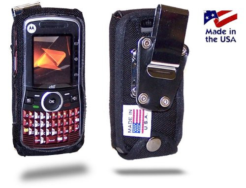 Motorola i465 Clutch  Heavy Duty Cell Phone Case