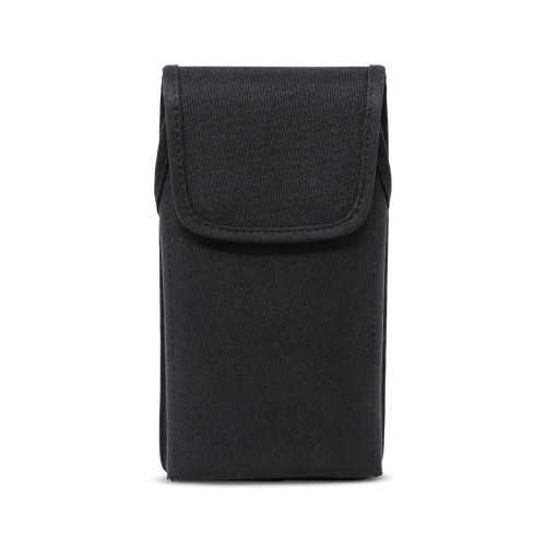 Galaxy Note 20 Ultra (2020) Vertical Holster for Otterbox DEFENDER Case, Turtleback Belt Case with Rotating Metal Belt Clip, Black Nylon Pouch