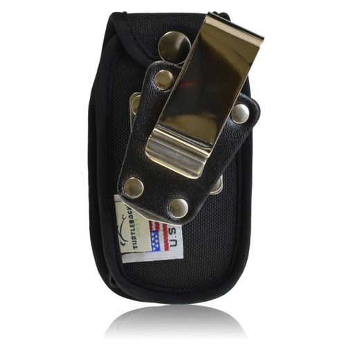 Greatcall R220 Jitterbug Plus Heavy Duty Nylon Fitted Cellphone Case with Rotating Belt Clip