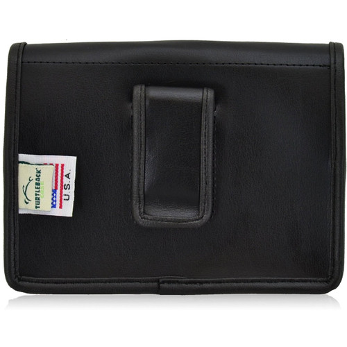 Blackberry Passport Horizontal Leather Holster, Black Belt Clip