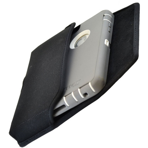 iPhone 6 Plus/6S Plus Extended  Horizontal Nylon Rotating Clip Holster