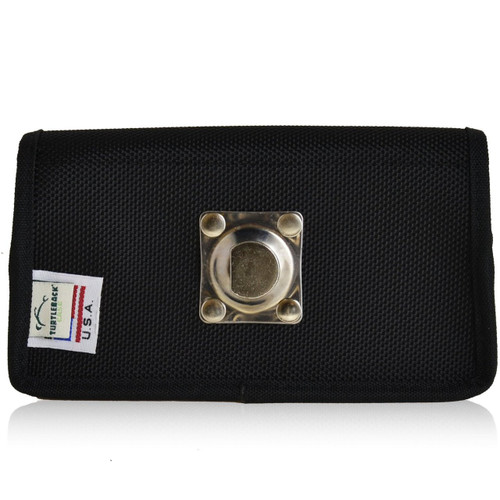 Horizontal Nylon Extended Holster for Samsung Galaxy S4 IV with Bulky Cases, Metal Belt Clip