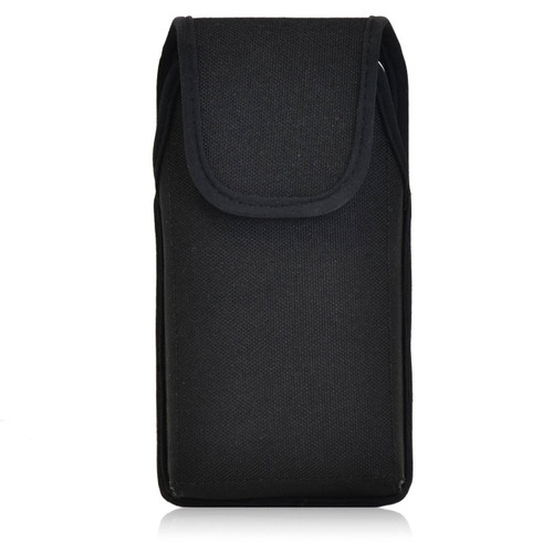 HTC One M8 Vertical Nylon Holster, Metal Belt Clip